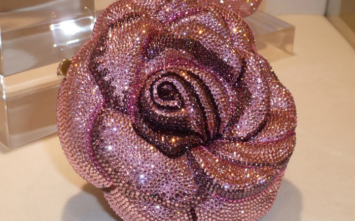 Сумка «Драгоценная роза» от Leiber