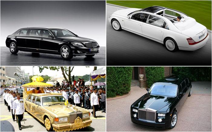 10 самых дорогих лимузинов в мире