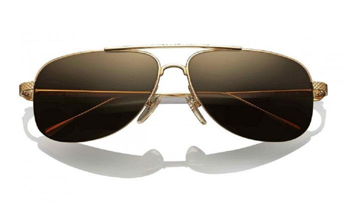 Платиновые солнцезащитные очки от Bently