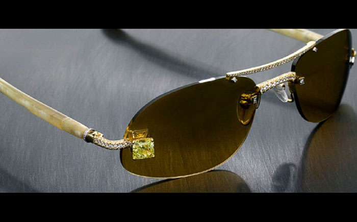 Солнцезащитные очки Luxuriator Style 23 Canary Diamond