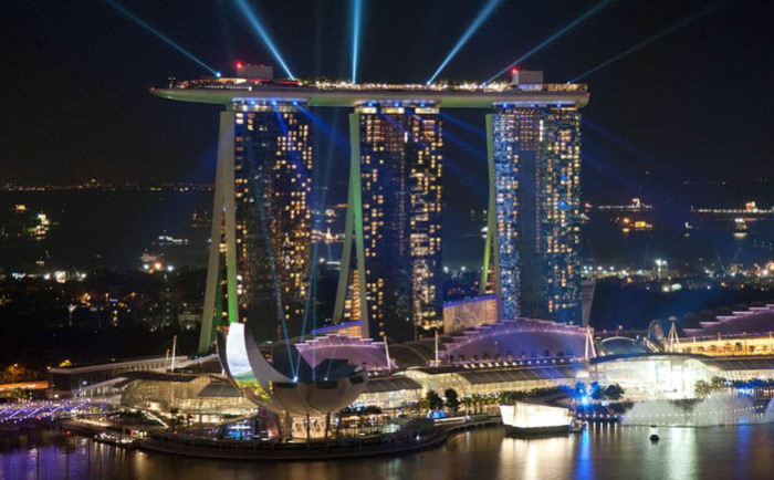 Казино в отеле Marina Bay Sands