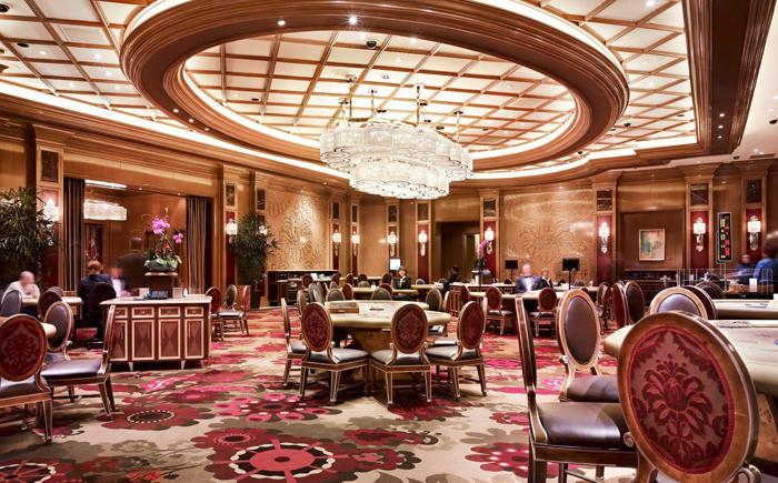 Казино в отеле Bellagio в Лас-Вегасе