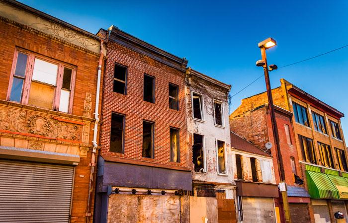 Снос домов для бедняков