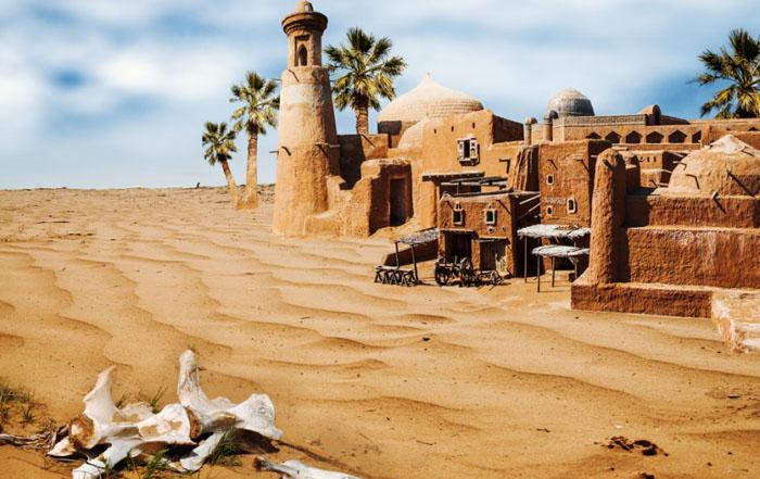 Строительство в пустыне