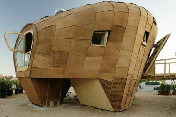 Fab Lab House - идеальный экодом
