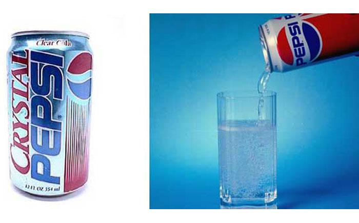 "Ледяной напиток ""Crystal Pepsi"""
