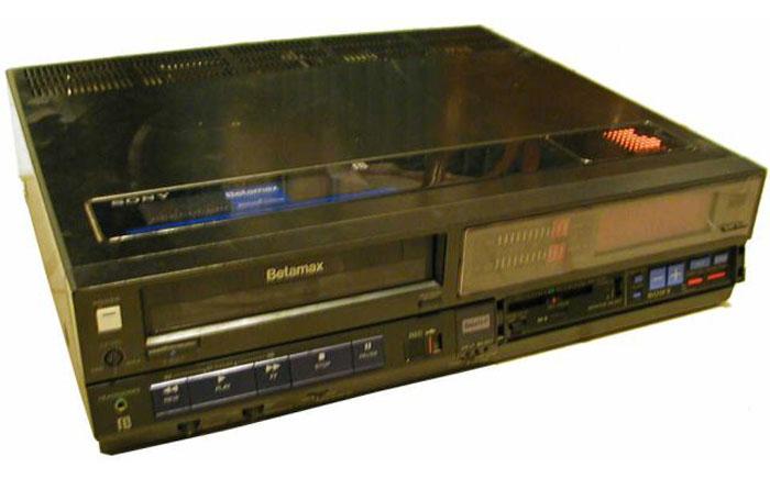 "Видеомагнитофон ""Betamax"""