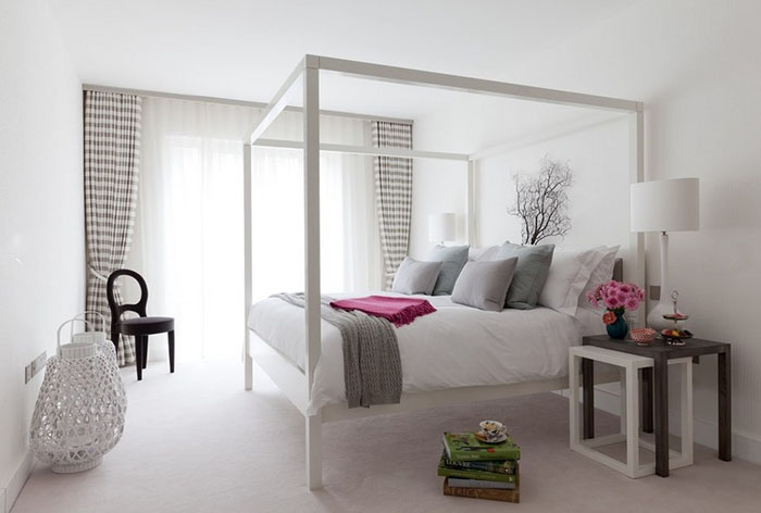 Интерьер спальни от Taylor Howes Designs