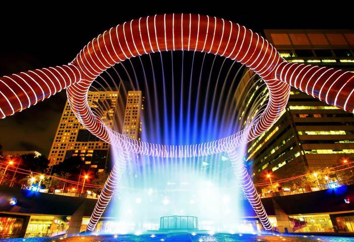 Фонтан Процветания, Сингапур