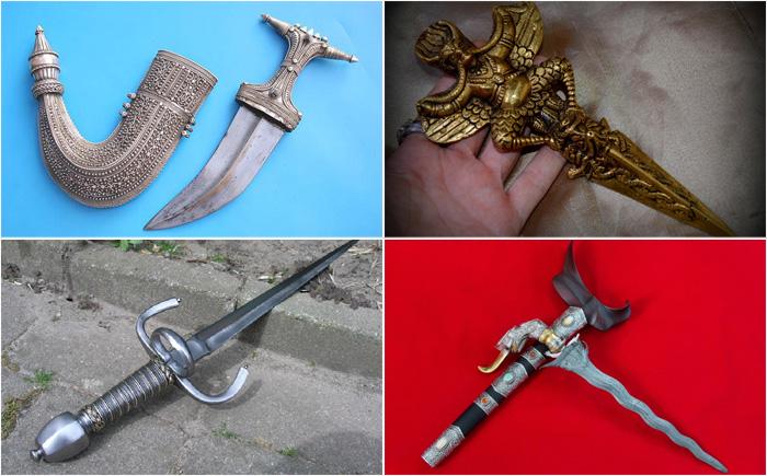 10 самых удивительных боевых ножей в мировой истории