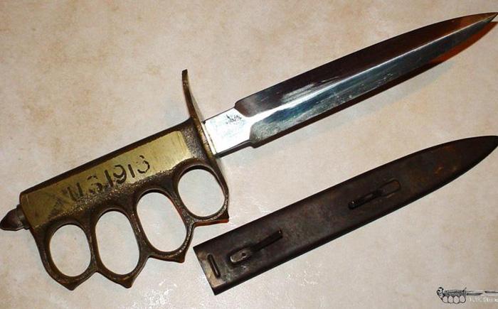 Боевой окопный нож Mark 1