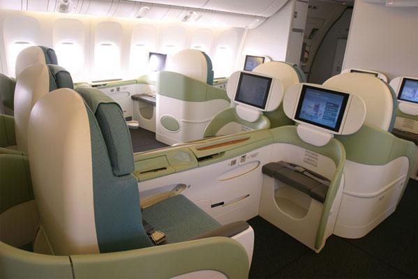 Салон первого класса от Korean Air