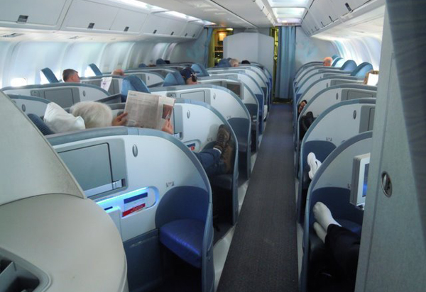 Салон первого класса от Air Canada