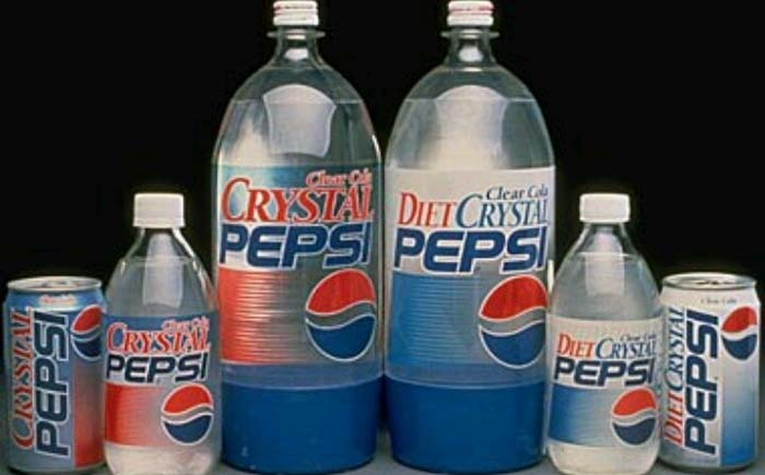 Crystal Pepsi – Clear Cola