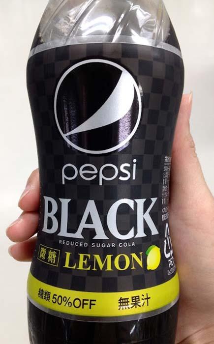 Pepsi Black – Lemon Cola