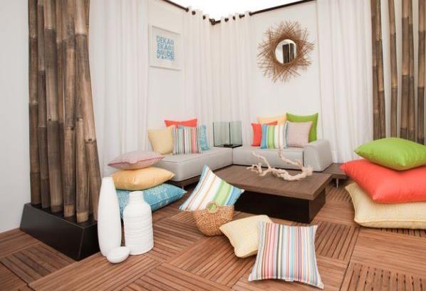 Необычная мягкая мебель - удивительные напольные подушки