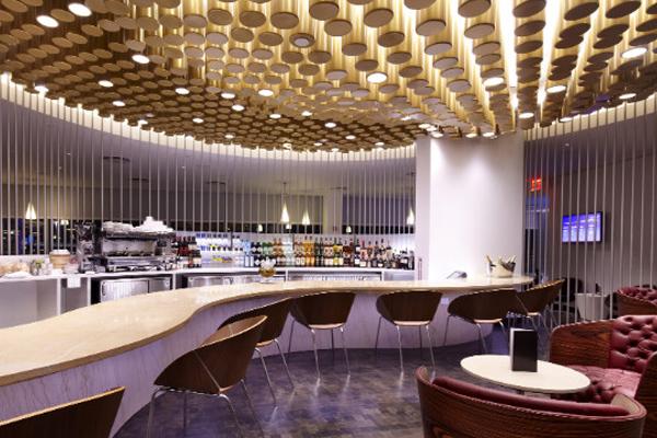 Virgin Clubhouse, аэропорт им. Дж. Кеннеди, Нью-Йорк