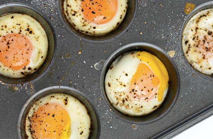 Как пожарить за один раз несколько яиц