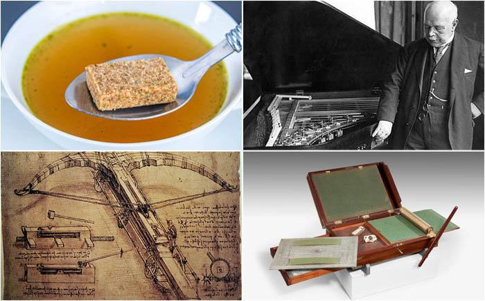 10 забытых изобретений от  известных  людей с мировым именем