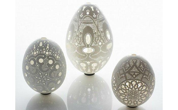 Ажурные пасхальные яйца из Словении