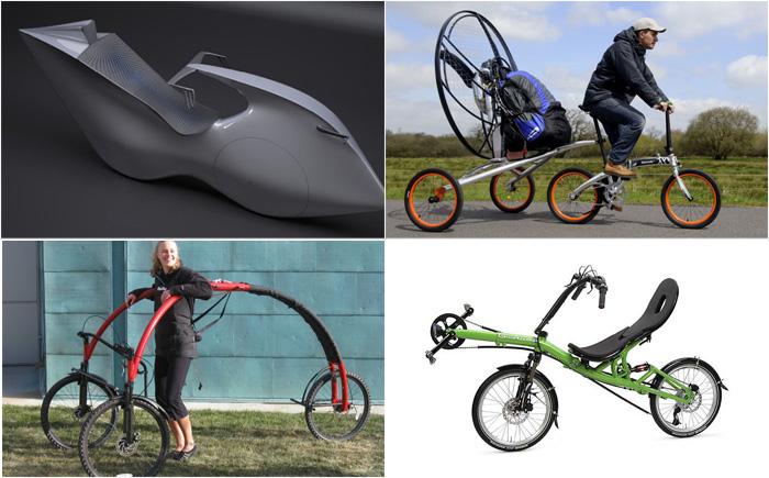15  футуристических велосипедов: от летающего байка до робота  педалями