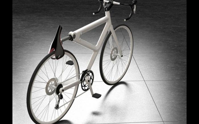 Велосипед с сидением-замком