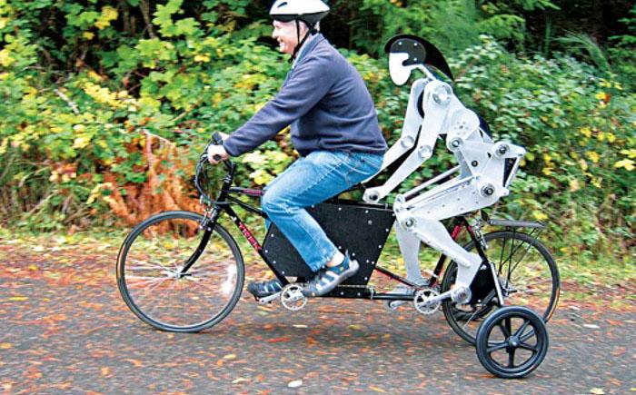 Велосипедный робот Joules