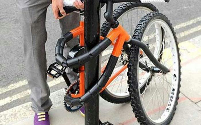 Сгибающаяся рама велосипеда