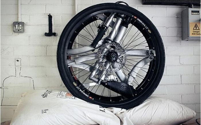 Складывающийся велосипед «Акробат»