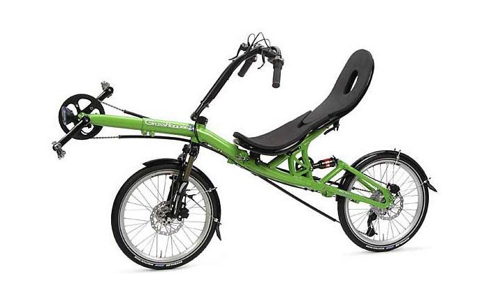 Складывающийся велосипед «Кузнечик»