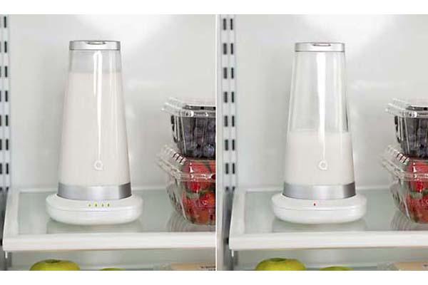 Молочник с красным и зелёным индекатором