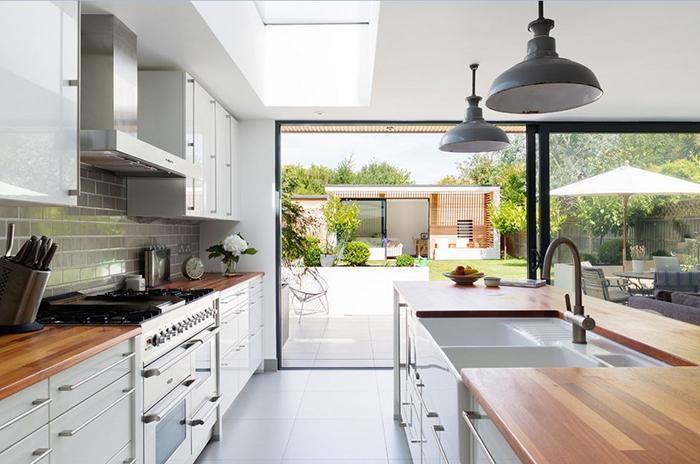 Интерьер кухни от Granit Chartered Architects