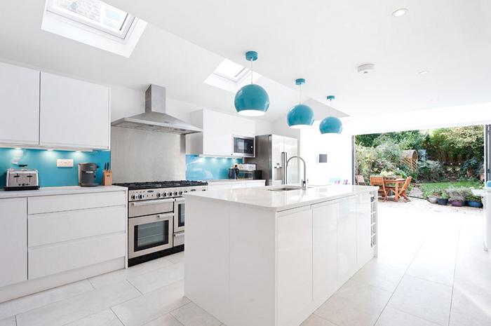 Интерьер кухни от Barnes Design