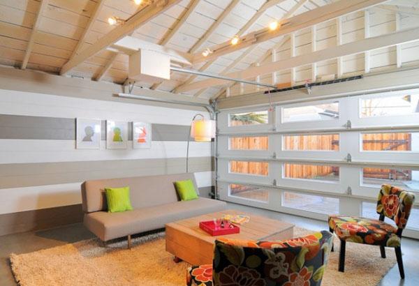 10 оригинальных идей по реконструкции гаража