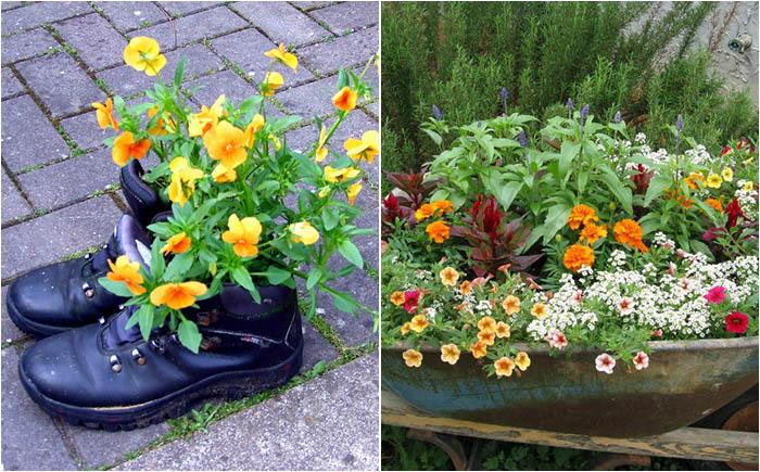 10 креативных цветочных вазонов, которые не купишь ни в одном магазине