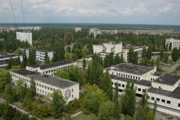 Припять (Украина): город работников Чернобыльской АЭС