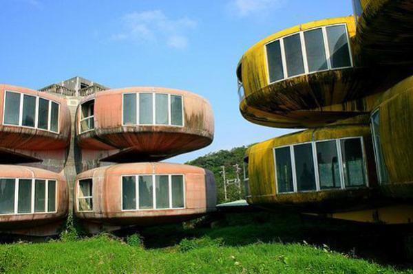 Сан Ши (Тайвань): футуристический курорт