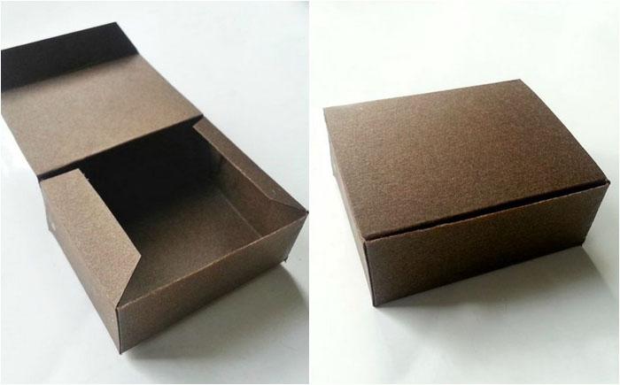 Коробка готова к декорированию