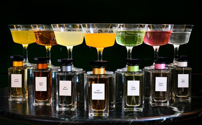 Новая коллекция коктейлей под брендом Живанши