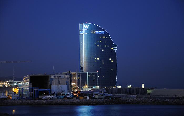 Отель W, Барселона