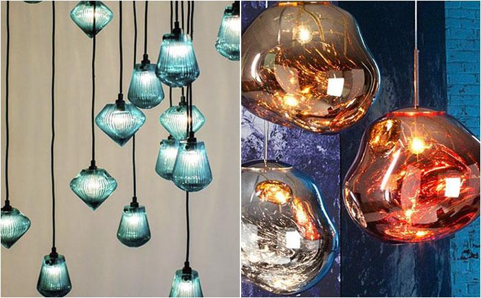 Яркие люстры от Tom Dixon