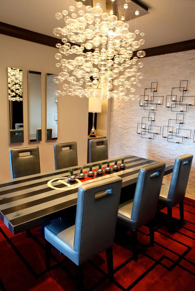 Бра-свечи для романтического ужина в столовой