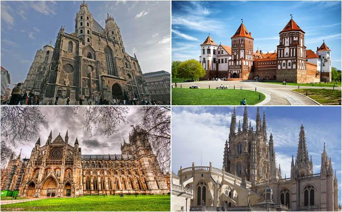 10 удивительных примеров готического стиля в мировой архитектуре