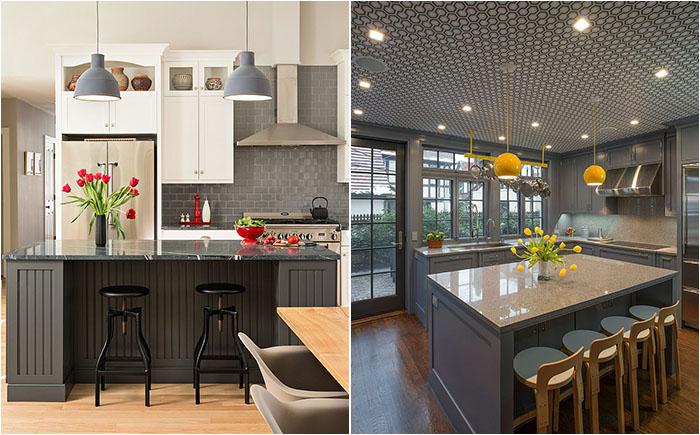 50 самых потрясающих кухонь в сером цвете от самых лучших дизайнеров в мир