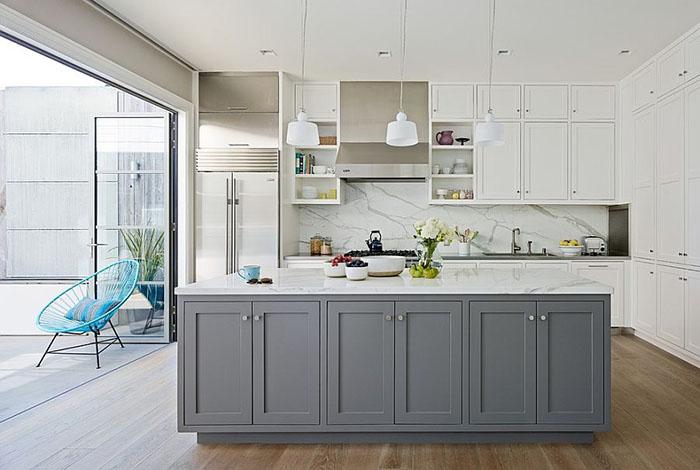 Интерьер кухни от Art of Construction