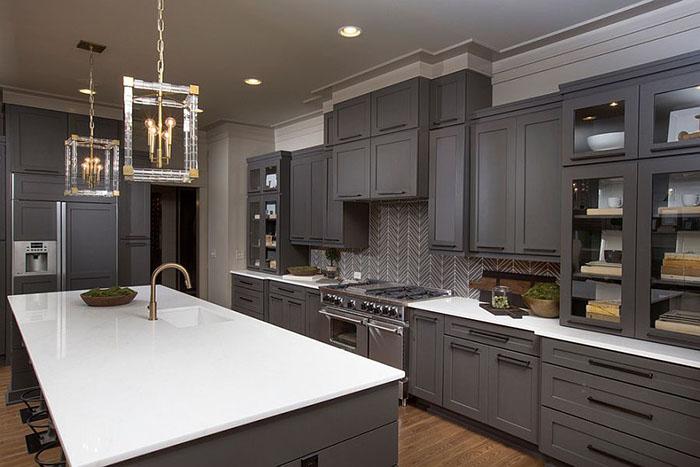 Интерьер кухни от Romanelli & Hughes Custom Home Builders