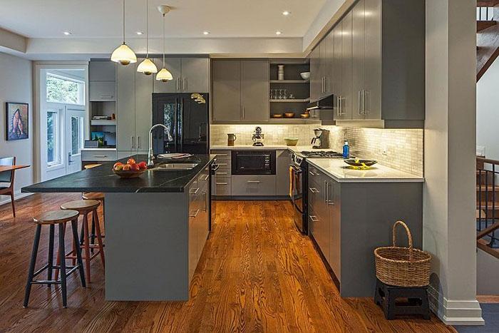 Интерьер кухни от Vanbetlehem Architect