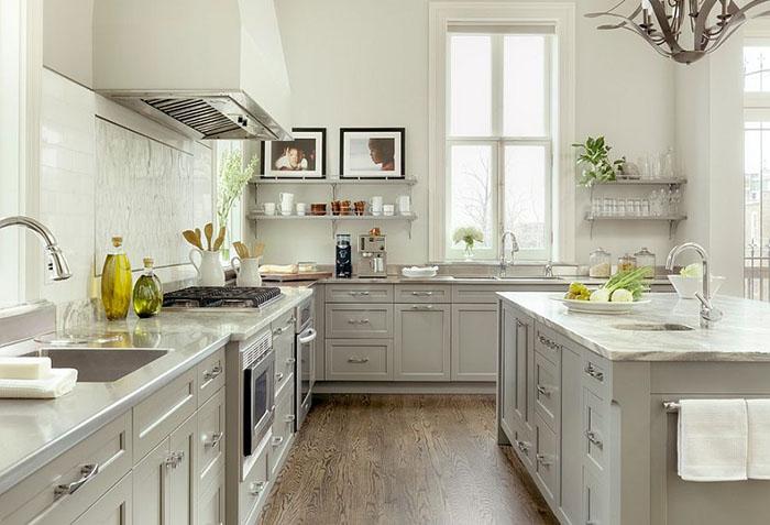 Интерьер кухни от Mitchell Wall Architecture & Design