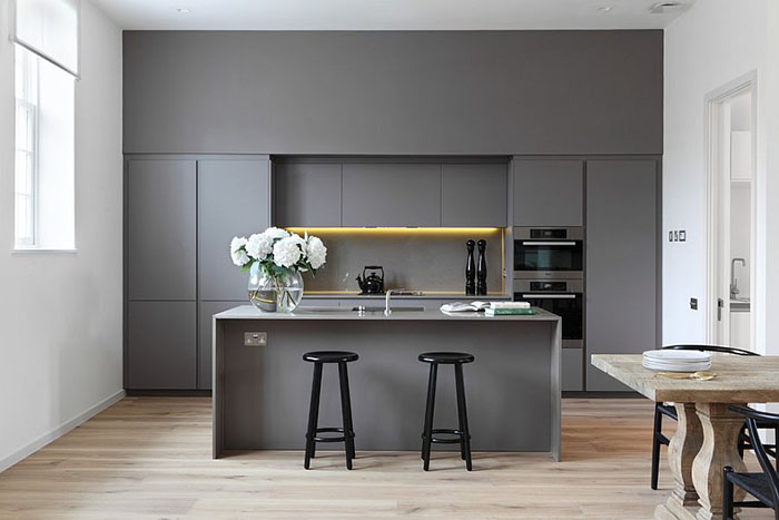 Интерьер кухни от DesignSpace London