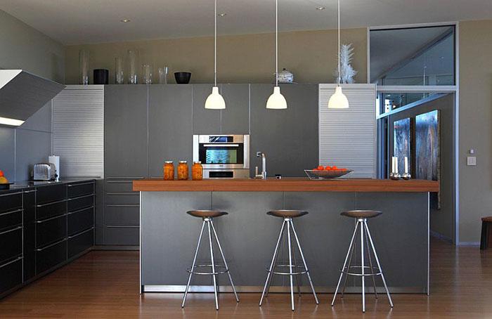 Интерьер кухни от Webber + Studio, Architects